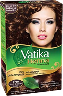 Vatika Henna Hair Dye - Dark Brown