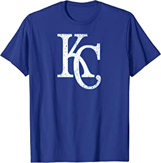 Vintage Kansas City Baseball Missouri KC Royal Blue Gift T-Shirt