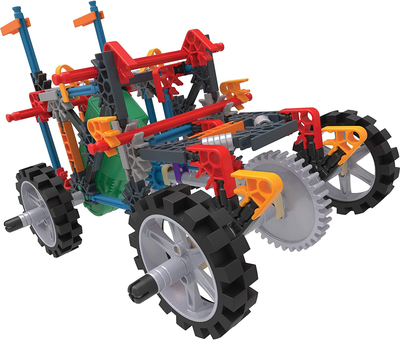 K'NEX Imagine - Juego de construcción de camión de demolición 4WD - 212 Piezas - Edades 7+ - Juguete Educativo de ingeniería