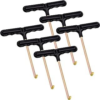 Bcpress 6 Pack Trampoline Spring Puller Tool T-Hook Spring Puller T-Hook Tool