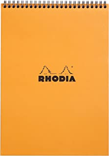 Rhodia Wirebound Pad 8.25x11.75, Lined, Orange
