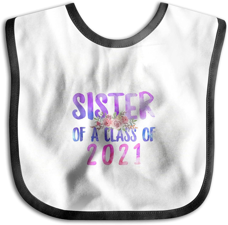 OYQGEJGPJA Proud Sister Store of A Class Graduate 2021 Max 71% OFF Bib Baby for
