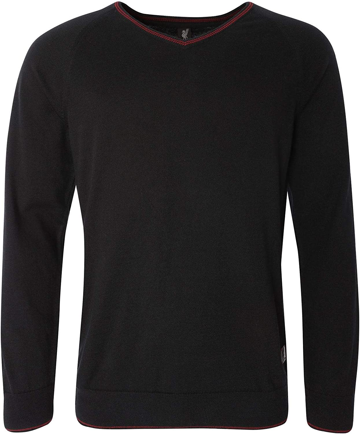 Liverpool FC Black Mens Football Signature Sweater AW 18 19 LFC Official