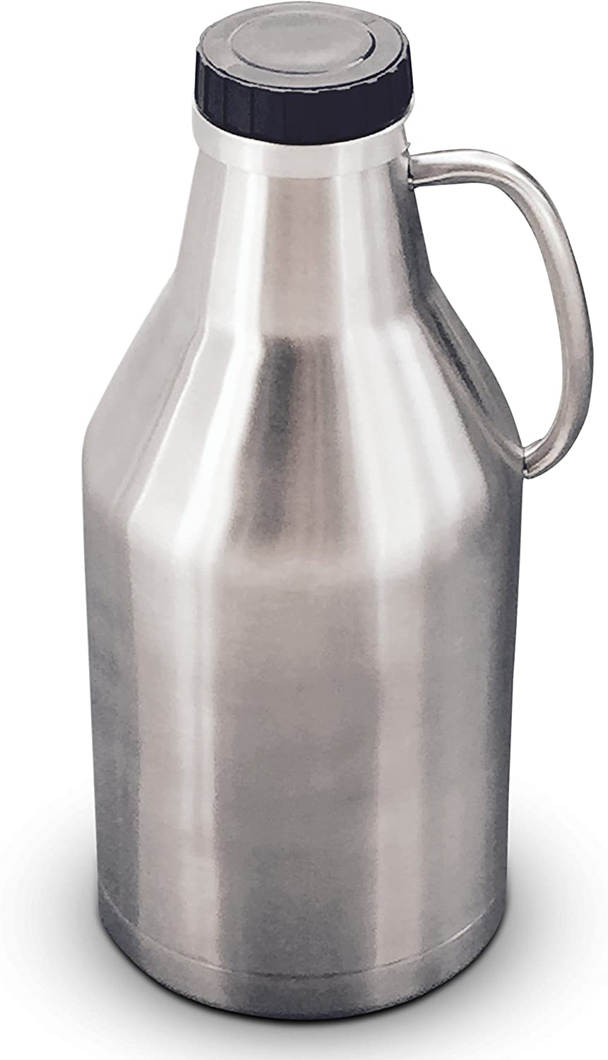 Vacuum insulated Limited time cheap sale double Max 48% OFF walled stainless handle 6 with growler