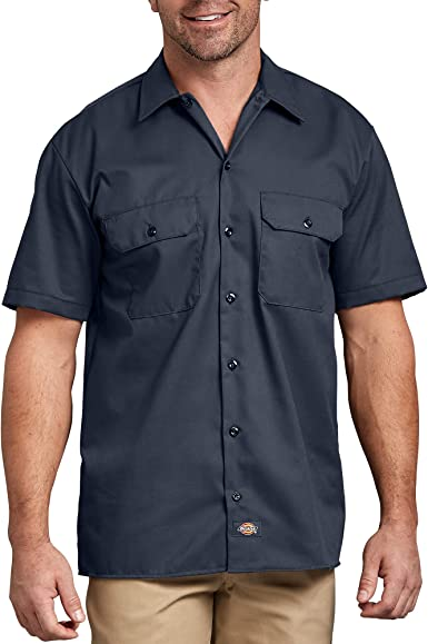 Dickies Shrt/S Work Shirt Camisa Casual para Hombre