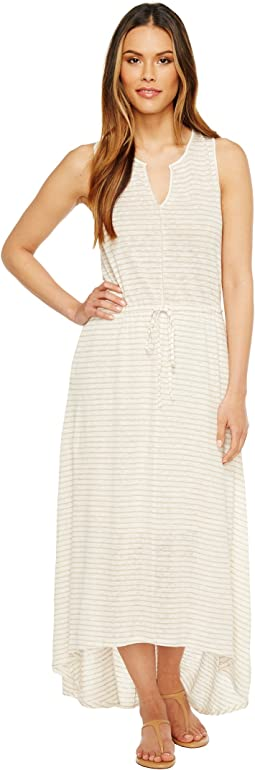 Grace Linen Grecian Maxi Dress