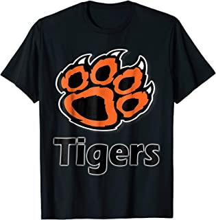 Tiger Paw School Spirit Tigers T-Shirt