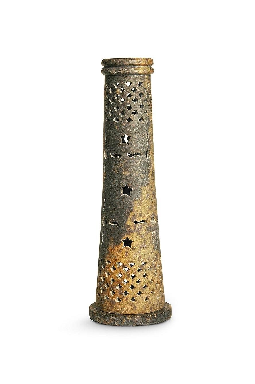 アッティカスサンドイッチ持つナグチャンパのお香。 Tower Cone Stand