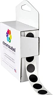 """ChromaLabel 1/2"""" Target Pasters for Shooting and Target Practice 1000/Box"""