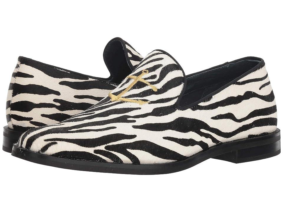 Sperry Overlook Leather Smoking Slipper (Zebra) Men