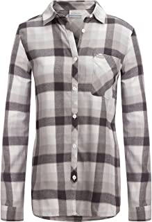 Columbia Women's Simply Put II Flannel Shirt, Long Sleeve, 100% Cotton