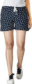 Club A9 Women's Cotton Printed Shorts | Short Pants | Hot Pants | Night Shorts | Night wear Shorts