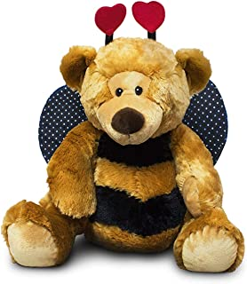 "Russ Berrie Breezy ""Bee Mine"" Teddy Bear - Large Stuffed Teddy Bear with Bee Costume"