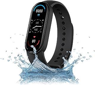 Mi Smart Band 6 x 1,56 full screen, Amoled, 30 trainingsmodi, SpO2-monitor, waterdicht tot 50 m, App Connection Mi Wear en...
