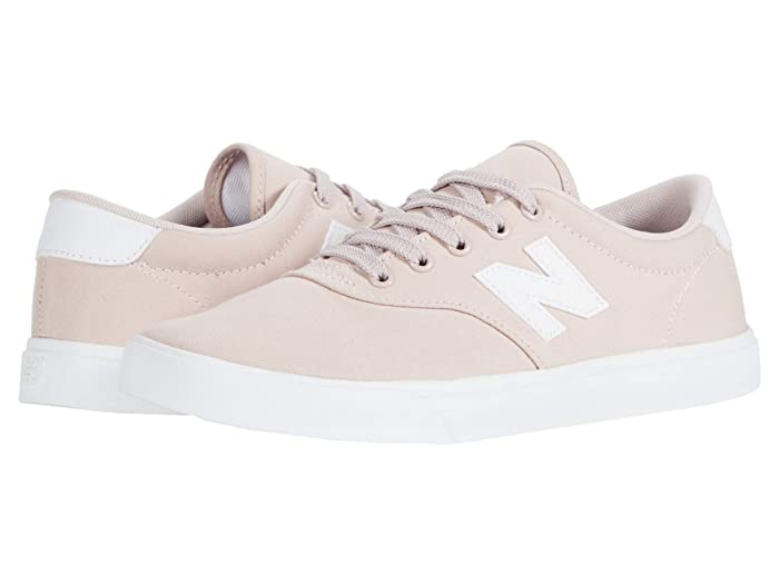New Balance Numeric All Coasts 55 (Pink/White) Athletic Shoes
