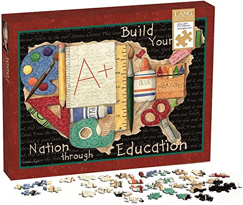 Build your Nation through Education 1000 Piece Puzzle by Perfect Timing