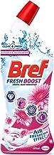 Bref Fresh Boost Flower Blossom with Air Freshener Effect, Toilet Cleaner Gel, 450ml