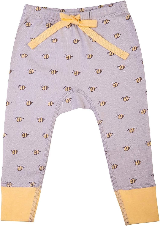 BeeCotton Unisex Baby 100% Organic Cotton Bee Pants