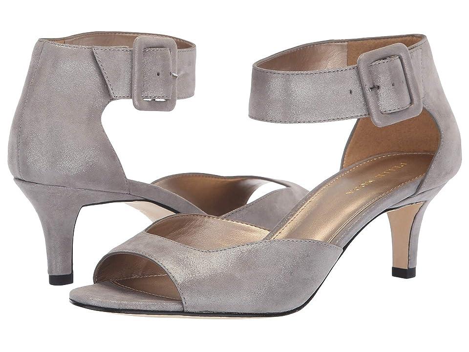 Pelle Moda Berlin (Pewter Shimmer Suede) High Heels