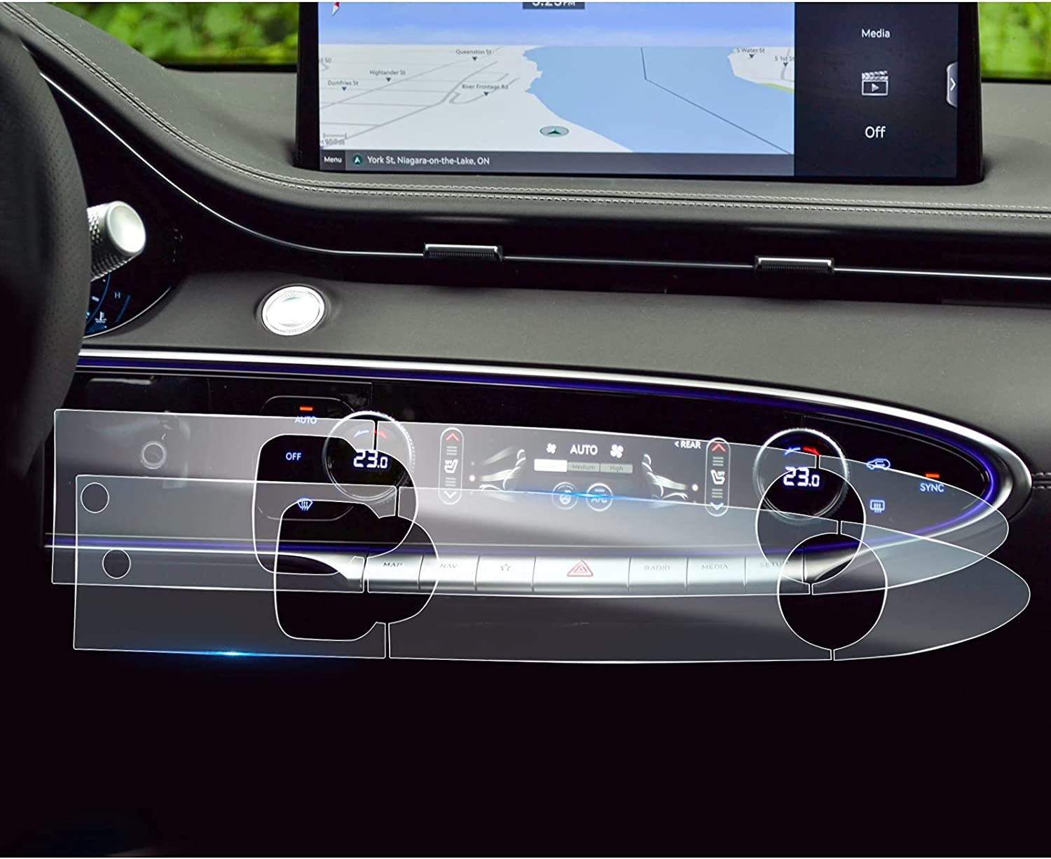 Max 60% OFF LFOTPP Climate Display Control Touch wholesale Protector 2022+ for Screen