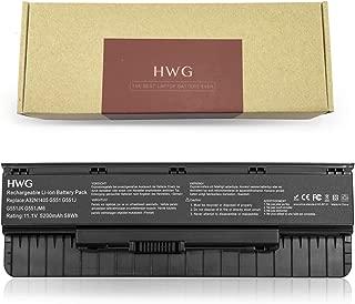 HWG A32NI405 High Performance Battery (11.1V 58Wh) for Asus G551 G58JK G771 G771JK G771JM G551JK G551JM N551 N751 GL551 GL771 GL551JM GL551JM-DH71 A32NI405 A32N1405