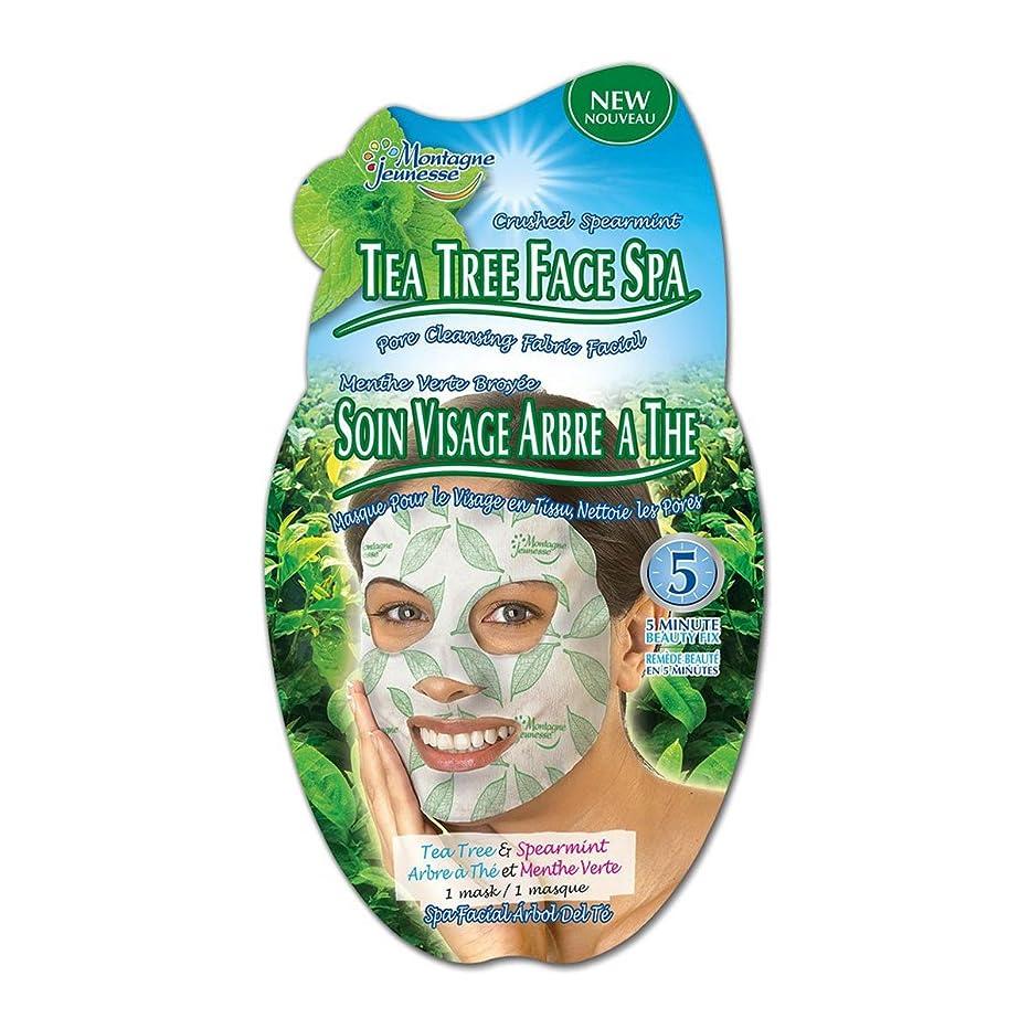 滅びる機関車遊び場Montagne Jeunesse Tea Tree Face Spa [並行輸入品]