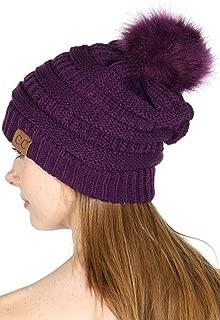 Best purple pom beanie Reviews