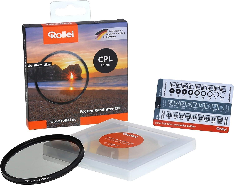 Rollei Rundfilter Extremium Dark Cpl Nd1000 Stopper 49 Kamera
