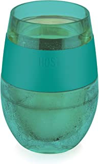 Host 7422 Insulated Plastic Glass Cooling Cup, One Size, Green (Renewed)