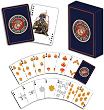 USMC Professional Quality Marine Corps Playing Cards