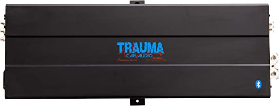 TRAUMA CAR AUDIO 2,200W RMS Bluetooth Concussion Series Amplifier
