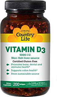 Best vitamin d3 country life Reviews