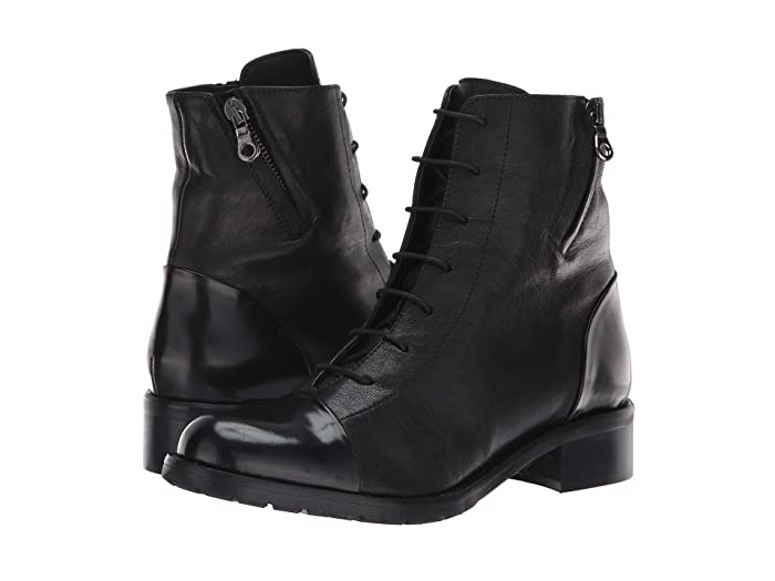 La Canadienne  Manning (Black Leather) Womens Dress Lace-up Boots