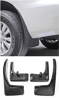 Niceautoitem 4pcs Mud Flaps Splash Guard Mudguards Fender ABS For Nissan Patrol Y62 2017 UP