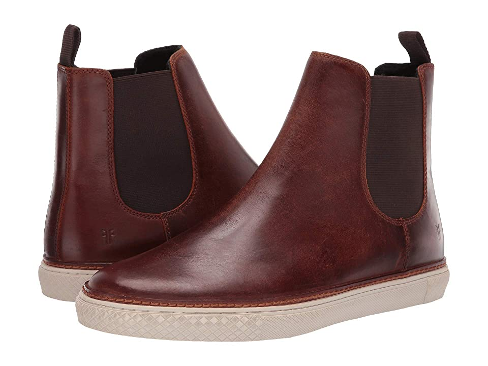 Frye Essex Chelsea (Cognac WP Smooth Pull-Up/Shearling) Men