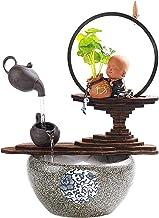 IndoorRelaxation - نافورة مياه الشلال من الداخل للاستخدام مع المشهد المنزلي للملحقات المنزلية - نوافير (اللون: A)
