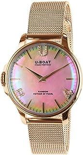 U-Boat - Rainbow Reloj para Mujer Analógico de Cuarzo con Brazalete de Acero Inoxidable 8473/MT