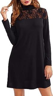 Suchergebnis Auf Amazon De Fur Langes Schwarzes Kleid Mit Spitze Bekleidung