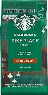 Starbucks Pike Place-koffie, medium gebraden, gebrande koffie, zacht, chocoladetint, hele bonen, 200 g