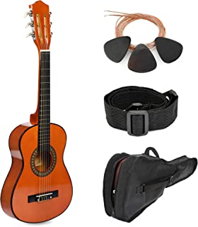 """30"""" Sunset Wood Guitar with Case and Accessories for Kids/Girls/Boys/Beginners"""