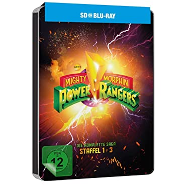 Power Rangers - Mighty Morphin Season 1-3 (SD on Blu-ray) [1993]