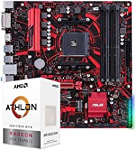 AMD Athlon 3000G Desktop Processor 2 Cores 4 Threads 5MB Cache Bundled with EX-A320M Gaming Motherboard