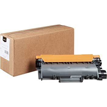 AmazonBasics Remanufactured High-Yield Toner Cartridge, Replacement for Brother TN660 – Black