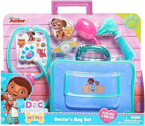 comprar descuentos Disney Doc McStuffins Pet Vet Doctor's Bag Set Set Set by Disney  descuento de bajo precio