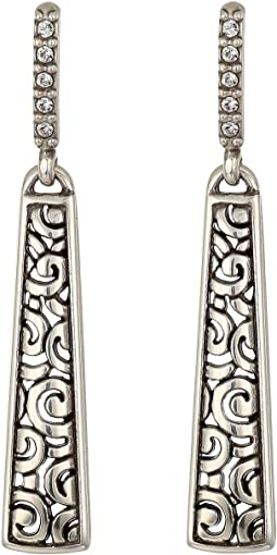 Deco Luxe Sleek Post Drop Earrings