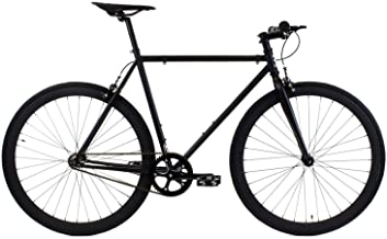 Golden Cycles Single Speed Fixed Gear Bike with Front & Rear Brakes