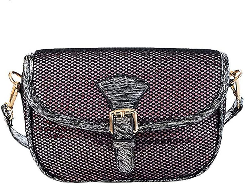 LHKFNU Trend Fashion Ladies Casual Shoulder Bag Handbag Crossbody Mini Messenger Bag for Women Flap Saddle Bag Totes