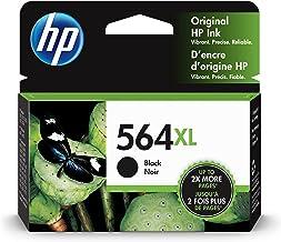 HP 564XL | Ink Cartridge | Black | Works with HP DeskJet 3500 Series, HP OfficeJet 4600 5500 C6300 6500 7500 Series, B855...
