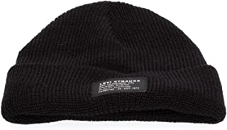Levi's Cropped Beanie-No Horse Pull Patch Orejeras Unisex Adulto