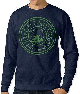 ESSES Stetson Univ Seal Mens Crew-Neck Sweatshirt Navy
